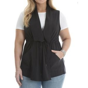 RIDERS By Lee On The Go Black Sleeveless Top XXL